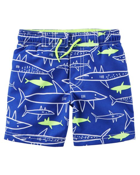 Display product reviews for Carter's Neon Shark Swim Trunks