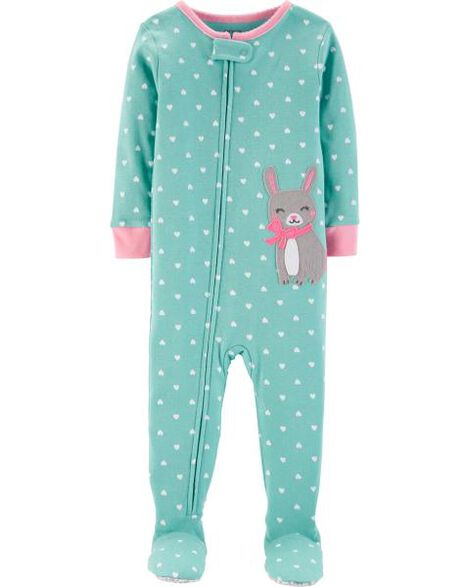 Display product reviews for 1-Piece Bunny Snug Fit Cotton PJs