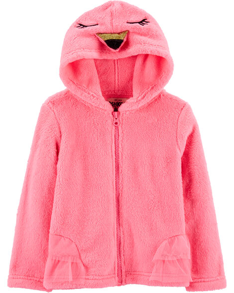 Display product reviews for Fuzzy Flamingo Hoodie