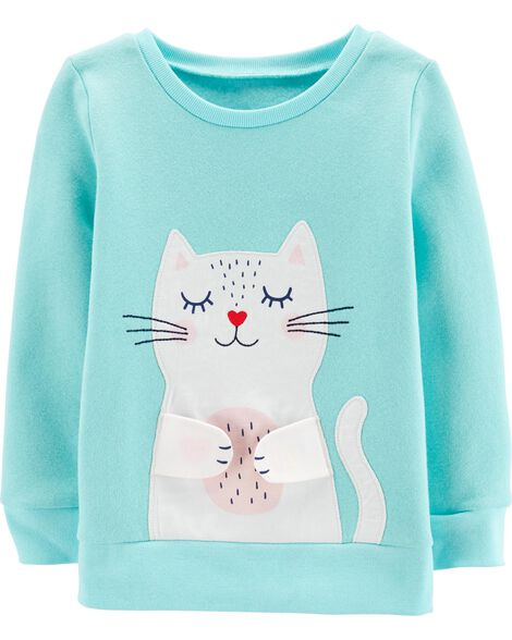 51a21249 Display product reviews for Interactive Kitty Fleece Sweatshirt