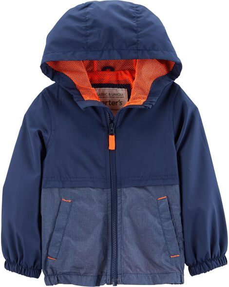 Display product reviews for Mesh-Lined Windbreaker