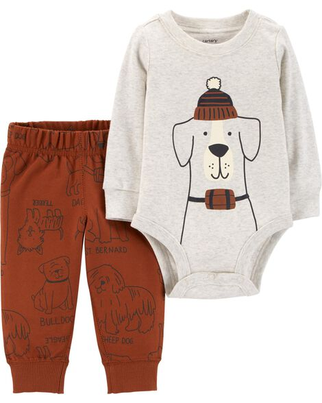 Display product reviews for 2-Piece Dog Bodysuit Pant Set