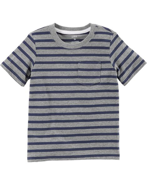 Display product reviews for Striped Pocket Tee