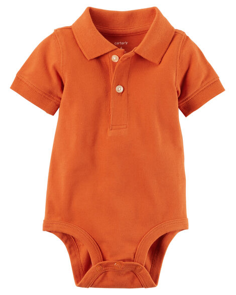 Display product reviews for Piqué Polo Bodysuit