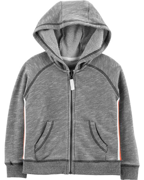 Display product reviews for Zip-Up French Terry Hoodie