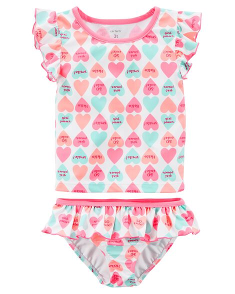 Display product reviews for Carter's Candy Heart Swimsuit