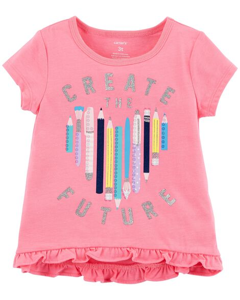 Display product reviews for Create The Future Hi-Lo Tee