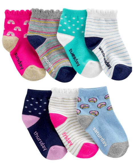 Display product reviews for 7-Pack Quarter Socks