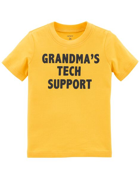 Display product reviews for Grandma's Tech Support Jersey Tee