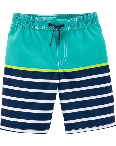 Display product reviews for Carter's Striped Swim Trunks