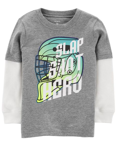 a56f4b95be43 Display product reviews for Hockey Layered-Look Tee