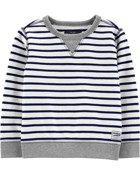 Display product reviews for Striped Pullover