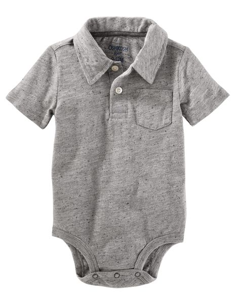Display product reviews for Short Sleeve Polo Bodysuit