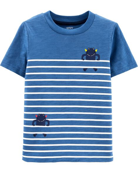 Display product reviews for Striped Monster Slub Jersey Tee