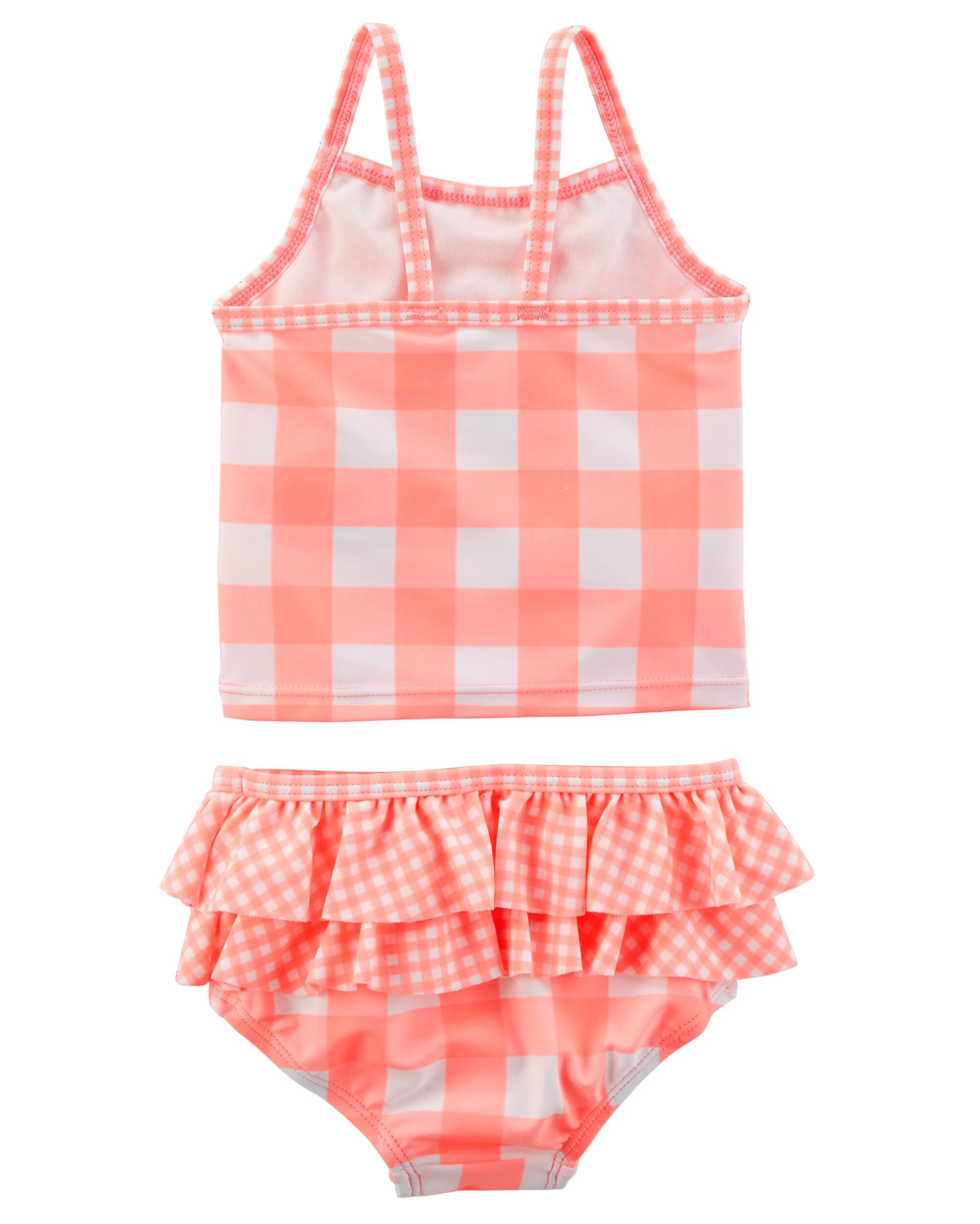 2028d502f7 Baby Girl 3-Piece Tankini   Cover-Up Set