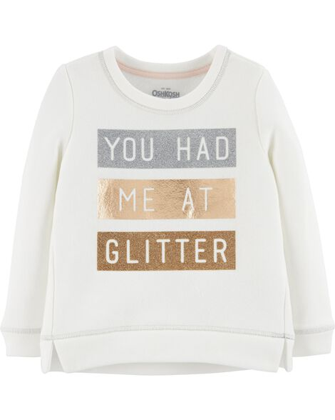Display product reviews for Glitter Pullover