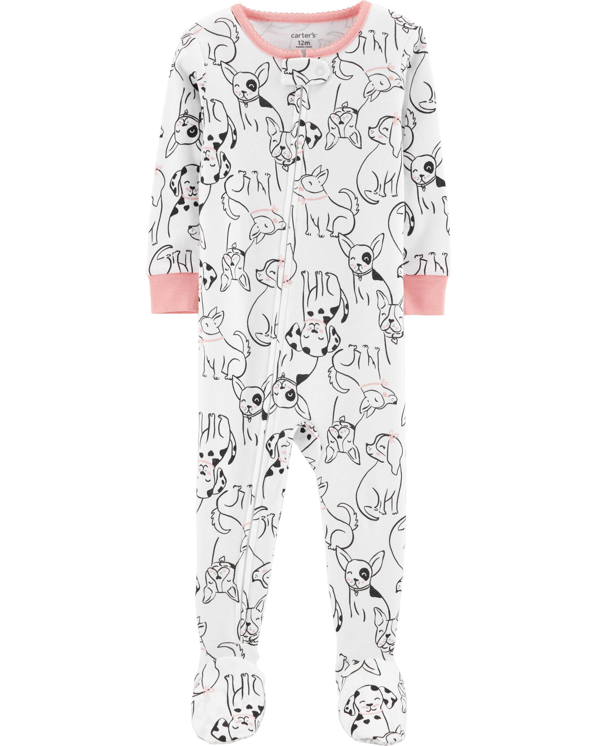 Baby & Toddler Clothing Girls' Clothing (newborn-5t) Toddler Girls 2 Piece Pajamas Im Snow Cute Size 3t Just One You By Carters Nwt Quality First