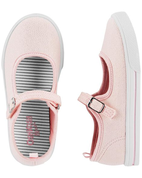 Display product reviews for OshKosh Pink Glitter Mary Janes