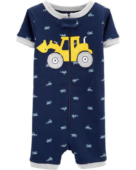 Display product reviews for 1-Piece Construction Snug Fit Cotton Sleep Romper