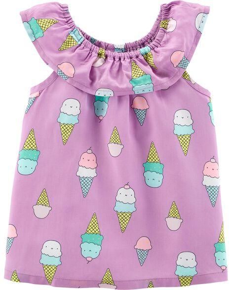 59f4281f Display product reviews for Ice Cream Scoop Neck Top