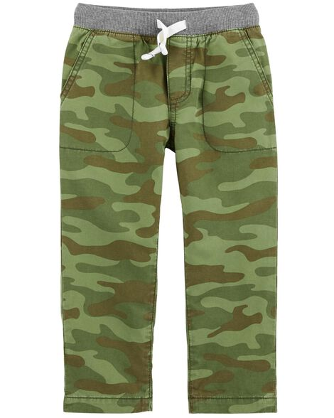 Display product reviews for Camo Everyday Pull-On Pants