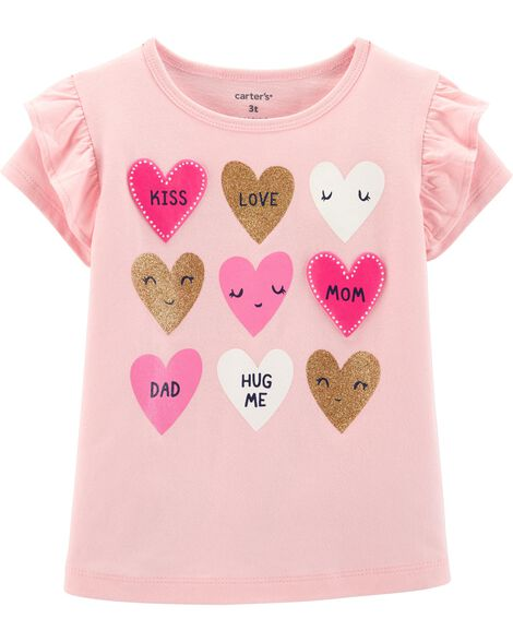 973ec8ac Display product reviews for Glitter Heart Tee