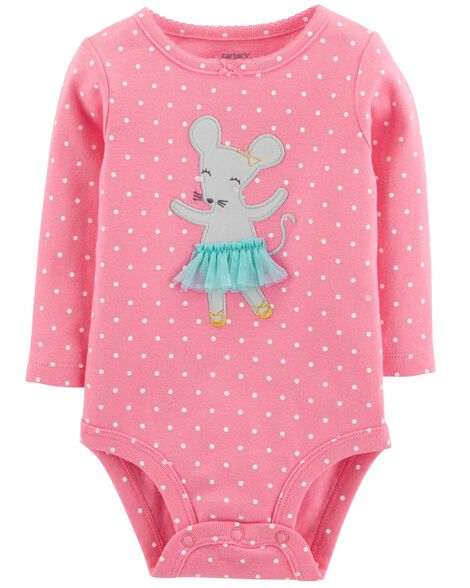 Display product reviews for Ballerina Mouse Collectible Bodysuit