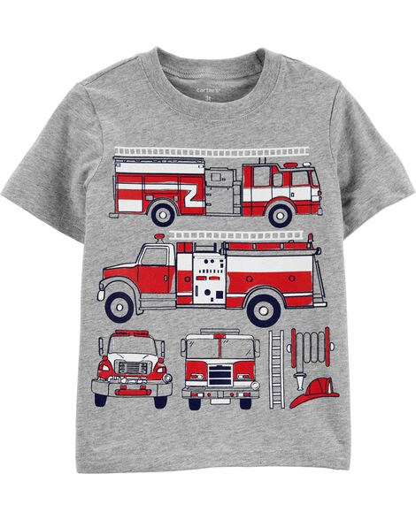 8be206bfd Baby Boy Tops: Collared & Dress Shirts, T-Shirts   Carter's   Free ...
