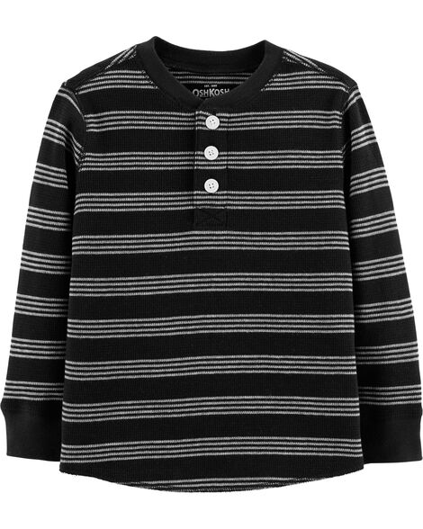 Display product reviews for Striped Henley Thermal