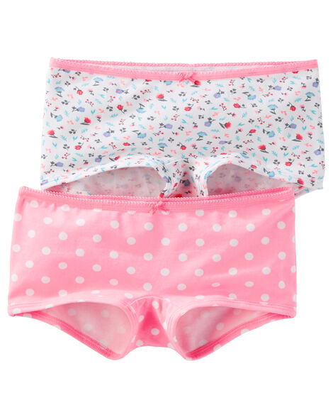 Display product reviews for 2-Pack Stretch Cotton Boyshort Panties