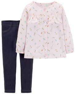 0279aa0f9 Toddler Girl Clearance Clothes & Accessories | Carter's | Free Shipping