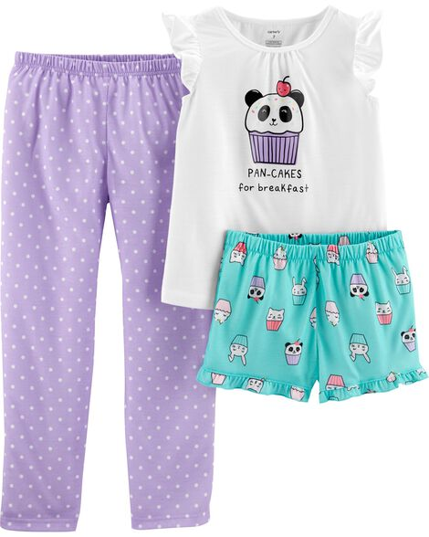 Display product reviews for 3-Piece Pancakes Poly PJs
