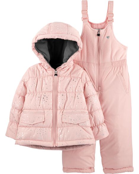 Display product reviews for 2-Piece Pink Snowsuit Set