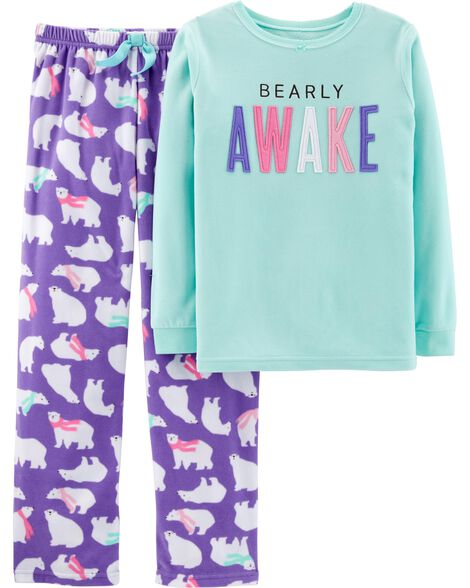 Display product reviews for 2-Piece Polar Bear Fleece PJs
