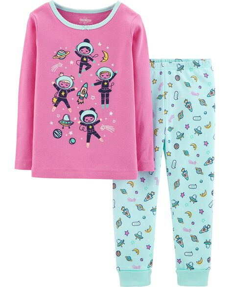 Display product reviews for Snug Fit Astronaut Cotton PJs