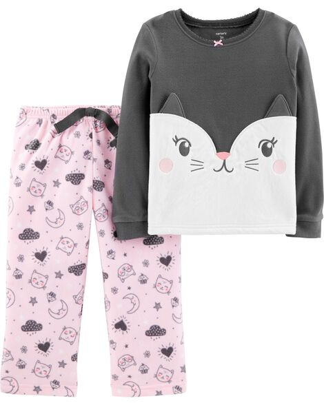 0aaf277a35 Display product reviews for 2-Piece Cat Fleece PJs