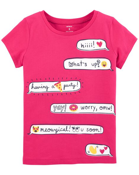 Display product reviews for Texting Jersey Tee