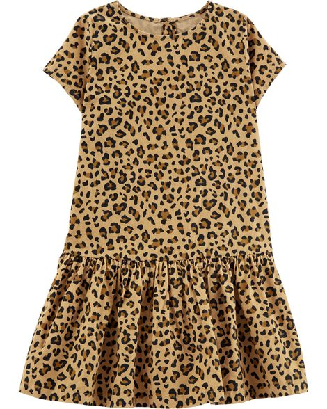 Display product reviews for Leopard Print Corduroy Dress