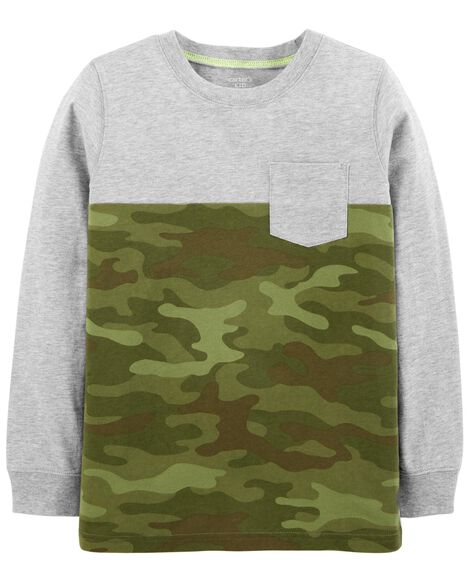 Display product reviews for Camo Jersey Tee