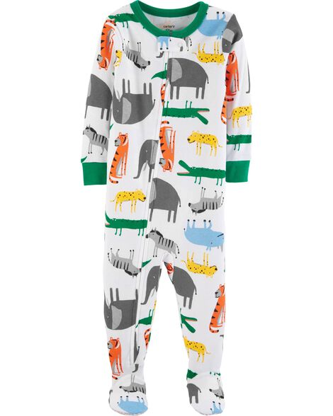 Display product reviews for 1-Piece Animals Snug Fit Cotton PJs
