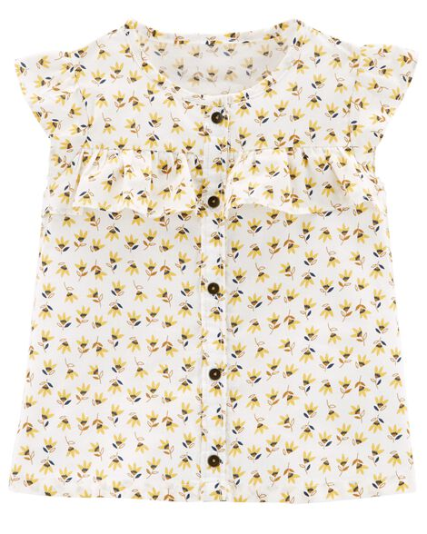 Display product reviews for Ruffle Sunflower Top