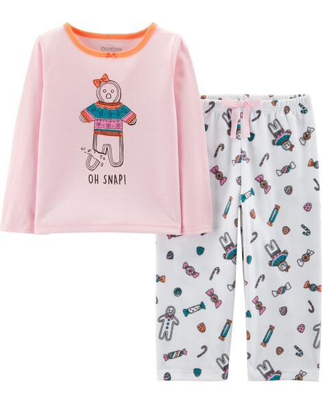 Display product reviews for 2-Piece Gingerbread PJs