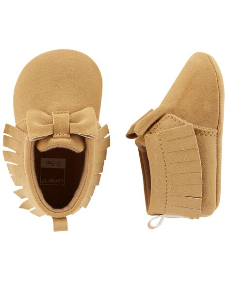 Display product reviews for Carter's Moccasin Baby Shoes