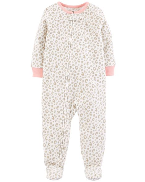 Display product reviews for 1-Piece Leopard Fleece PJs