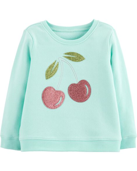 Display product reviews for Glitter Cherry Pullover