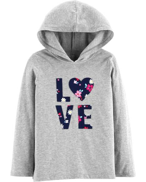 Display product reviews for Love Pullover Lightweight Hoodie