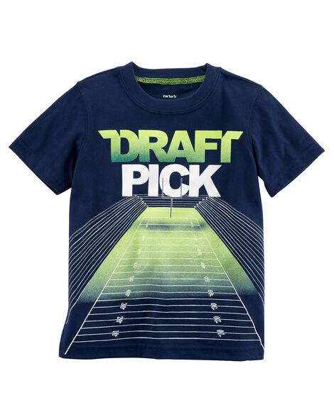 Display product reviews for Draft Pick Jersey Tee