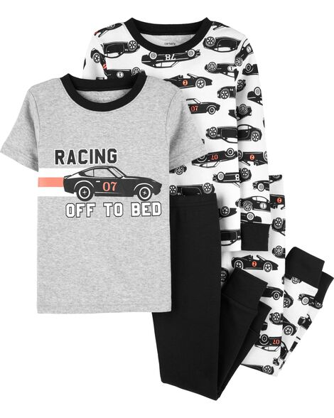 ee479b48a343f Display product reviews for 4-Piece Race Car Snug Fit Cotton PJs