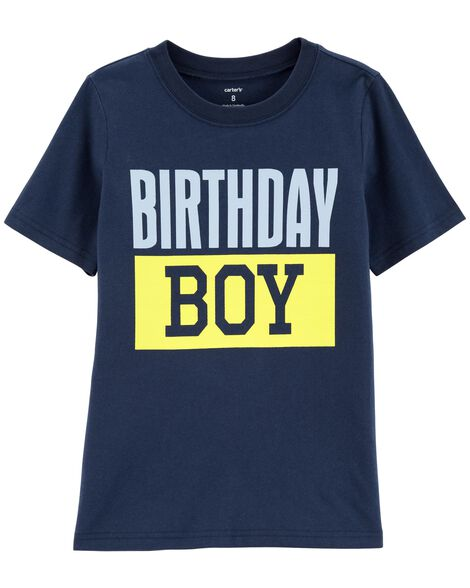 Display product reviews for Birthday Boy Jersey Tee