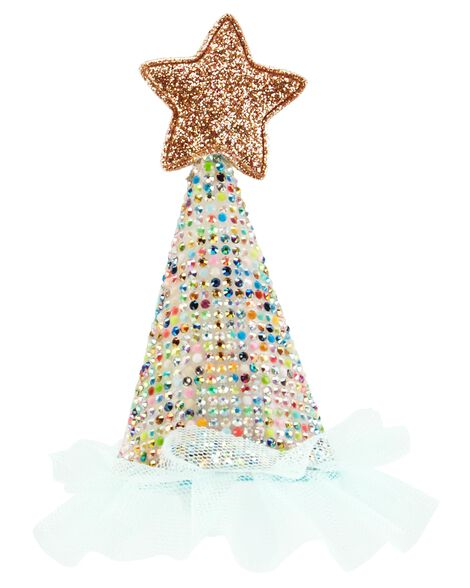 Display product reviews for Mini Glitter Birthday Hat Clip